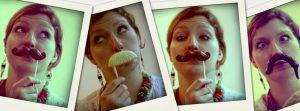 Moustaches en chocolat de Carré Noir