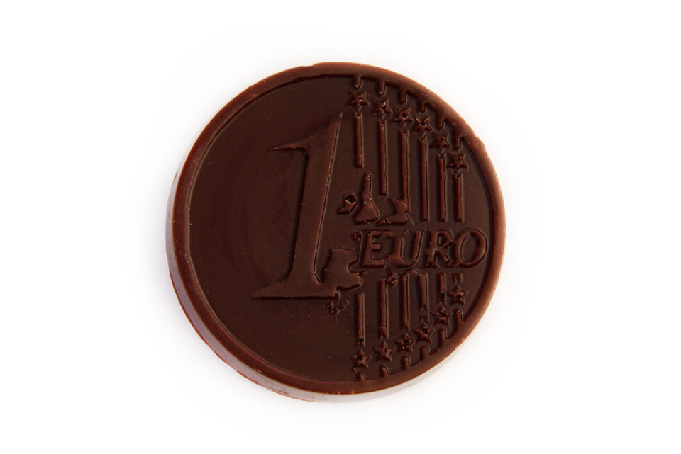 pièce chocolat noir