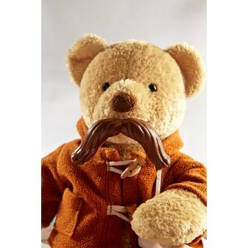 Moustache en chocolat