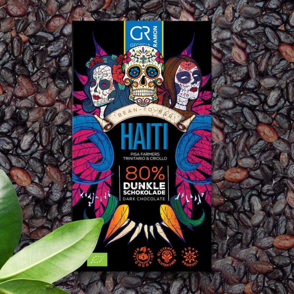 Chocolat Haiti 80