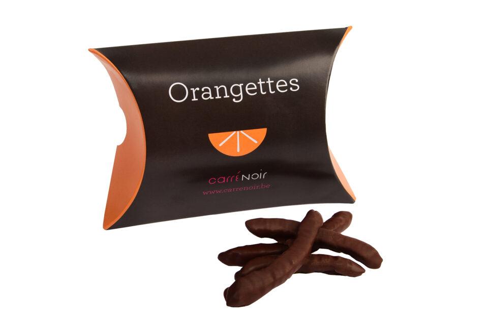 Orangette chocolat noir Carré Noir