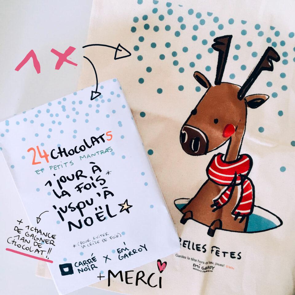 Le calendrier + le Tote Bag