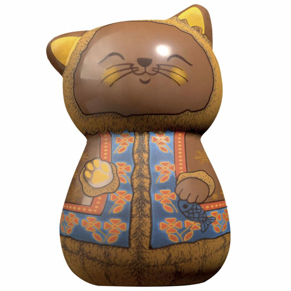 chat polaire en chocolat