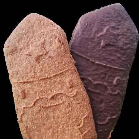 Spéculoos St Nicolas enrobé de chocolat