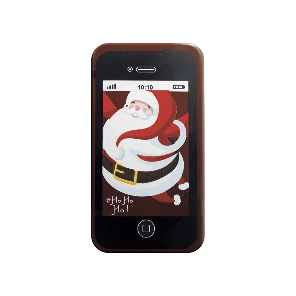 GSM du père Noël en chocolat