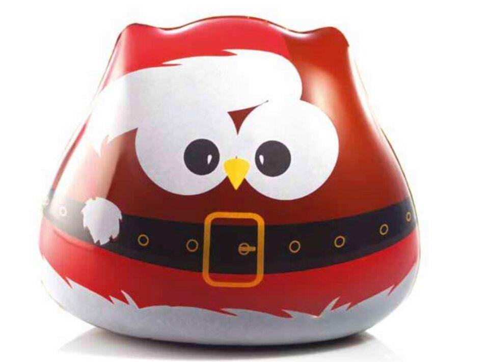 Hibou en chocolat de Noël