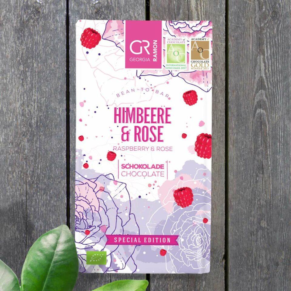 Chocolat framboise rose