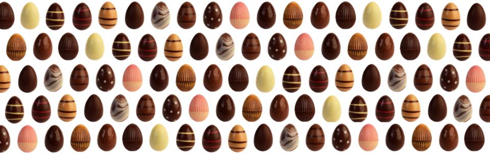 oeufs en chocolat Paques Carré Noir Liege
