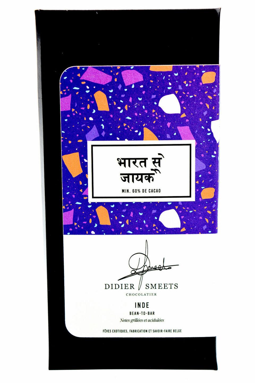 Didier Smeets chocolat noir Inde 60 pc