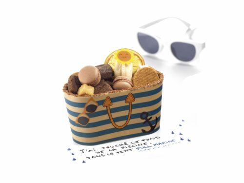 Sac de plage en chocolat - cadeau instituteur
