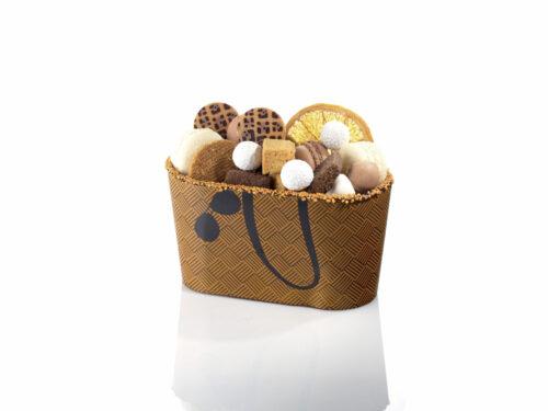 sac cabas en chocolat